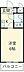 間取り,ワンルーム,面積16.29m2,賃料2.7万円,JR横浜線 相模原駅 徒歩6分,,神奈川県相模原市中央区相模原6丁目