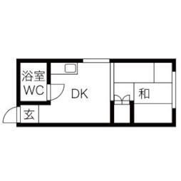 🉐敷金礼金0円!🉐今野ハイツB棟