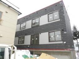 札幌市営東西線 南郷13丁目駅 徒歩10分の賃貸アパート