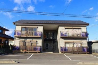 外観,2DK,面積53.46m2,賃料4.9万円,JR常磐線 内原駅 徒歩8分,,茨城県水戸市三湯町