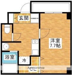 M'PLAZA新大阪弐番館 3階1Kの間取り