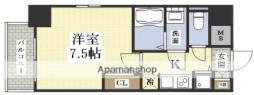 アドバンス新大阪VIビオラ 4階1Kの間取り