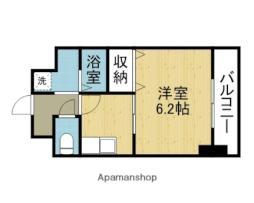 Osaka Metro千日前線 今里駅 徒歩7分の賃貸マンション 7階1Kの間取り