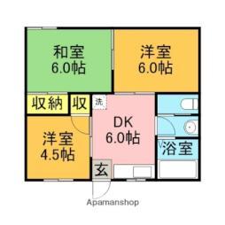 【敷金礼金0円!】西鉄甘木線 馬田駅 徒歩6分