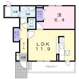 川島駅 4.4万円