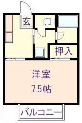 北中込駅 3.0万円