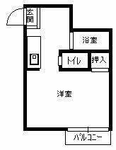 福大前駅 1.0万円