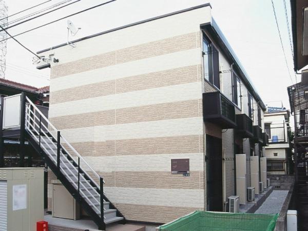 レオパレス渡田山王町[104号室]の外観