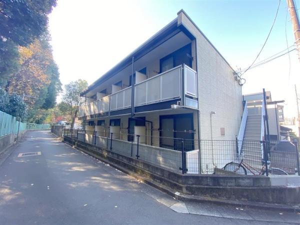 東京都練馬区土支田4丁目の賃貸アパートの外観