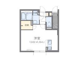 東京都練馬区大泉学園町5丁目の賃貸アパートの間取り